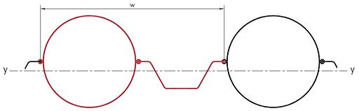 Pipe-S combi profile