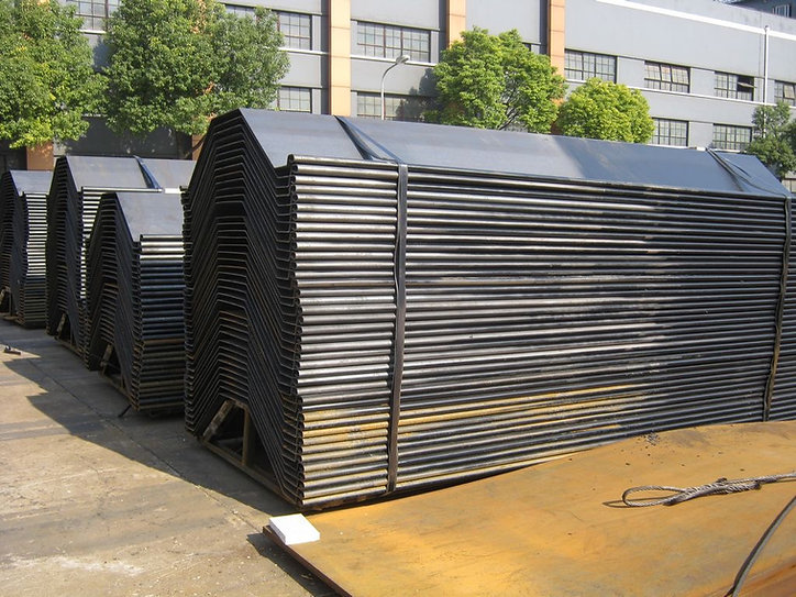Cold Rolled Sheet Piles (CRW)