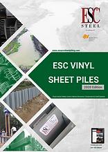 Vinyl sheet pile catalog