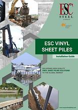 vinyl sheet pile installation guide