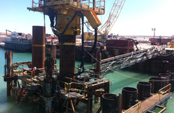 Sheet Pile - Pipe Pile Combination