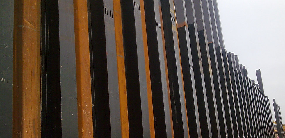 Sheet piles application