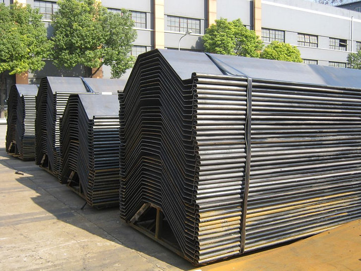 Extra wide ESC cold formed sheet piles over 1400mm width are an excellent alternative to Z