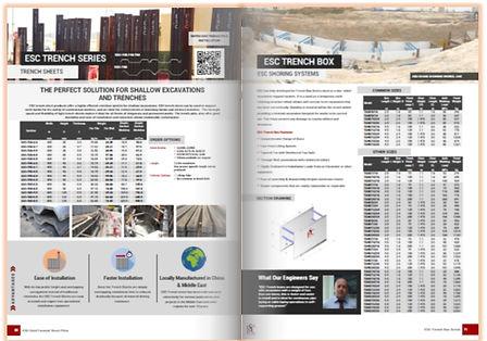 Shoring components catalogue