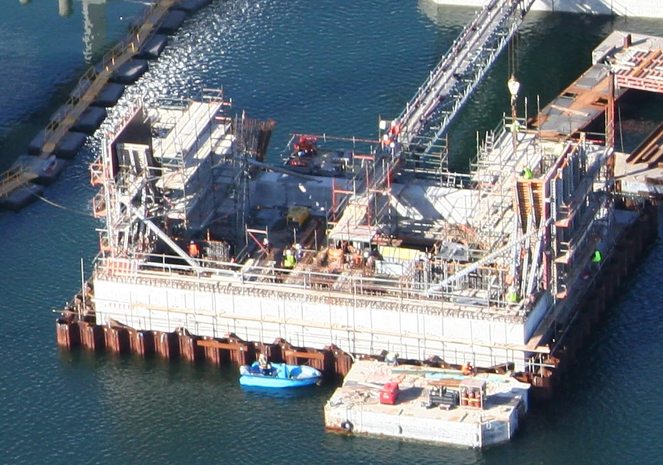 Bascule Bridge Cofferdam, Australia