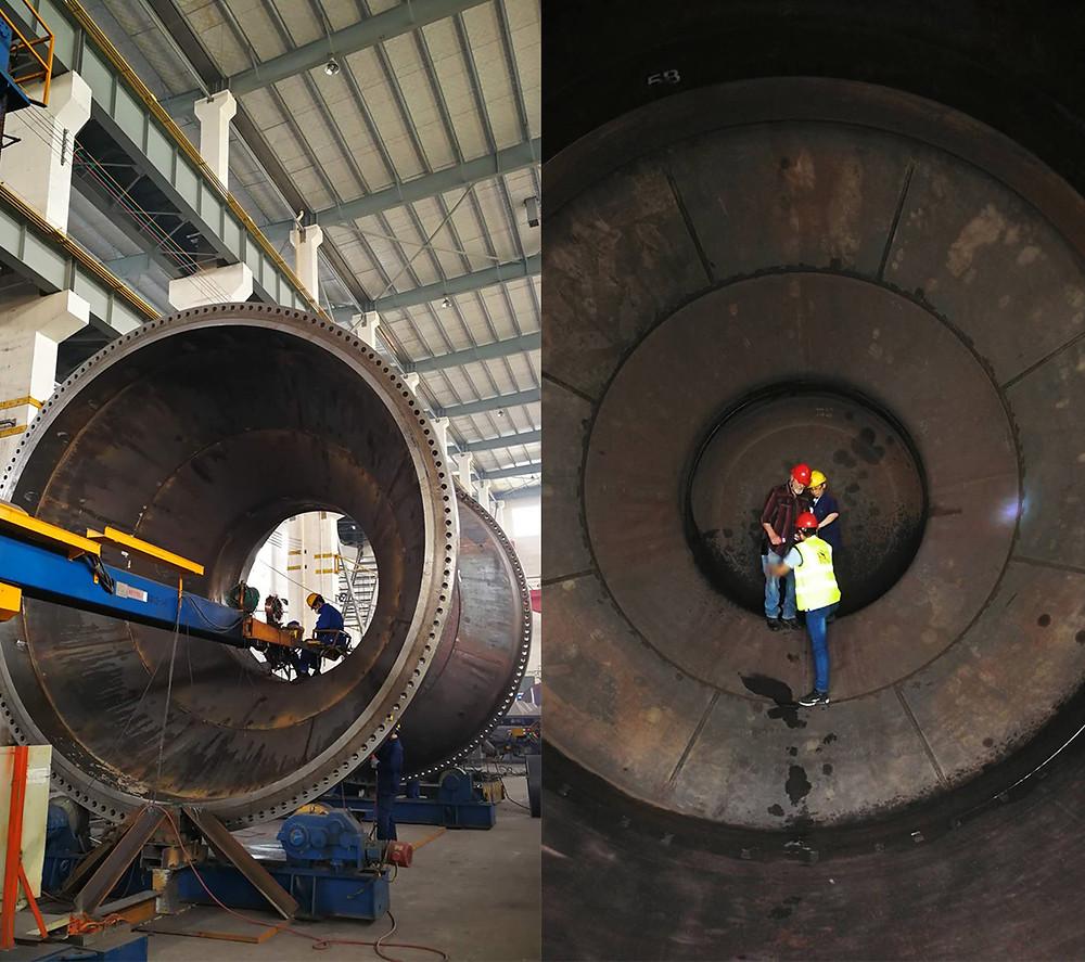 ESC fabrica câmaras de acesso para projetos de tunelamento.