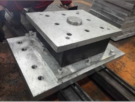 ESC also provided elastomeric bearing sets