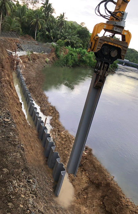 Esc Group Pvc Sheet Piling Solutions Serving Globally