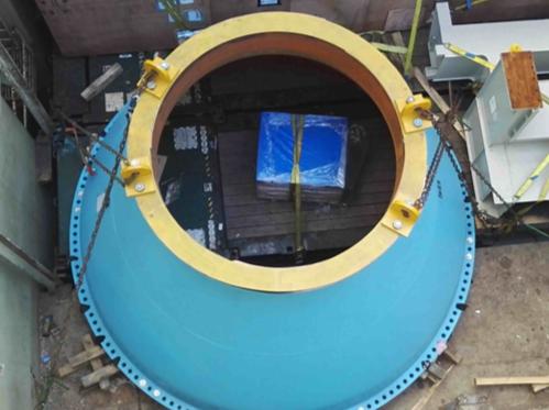 Pressure vessel secured