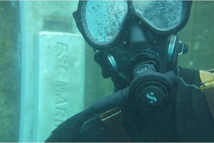 underwater installation of sacrificial anodes