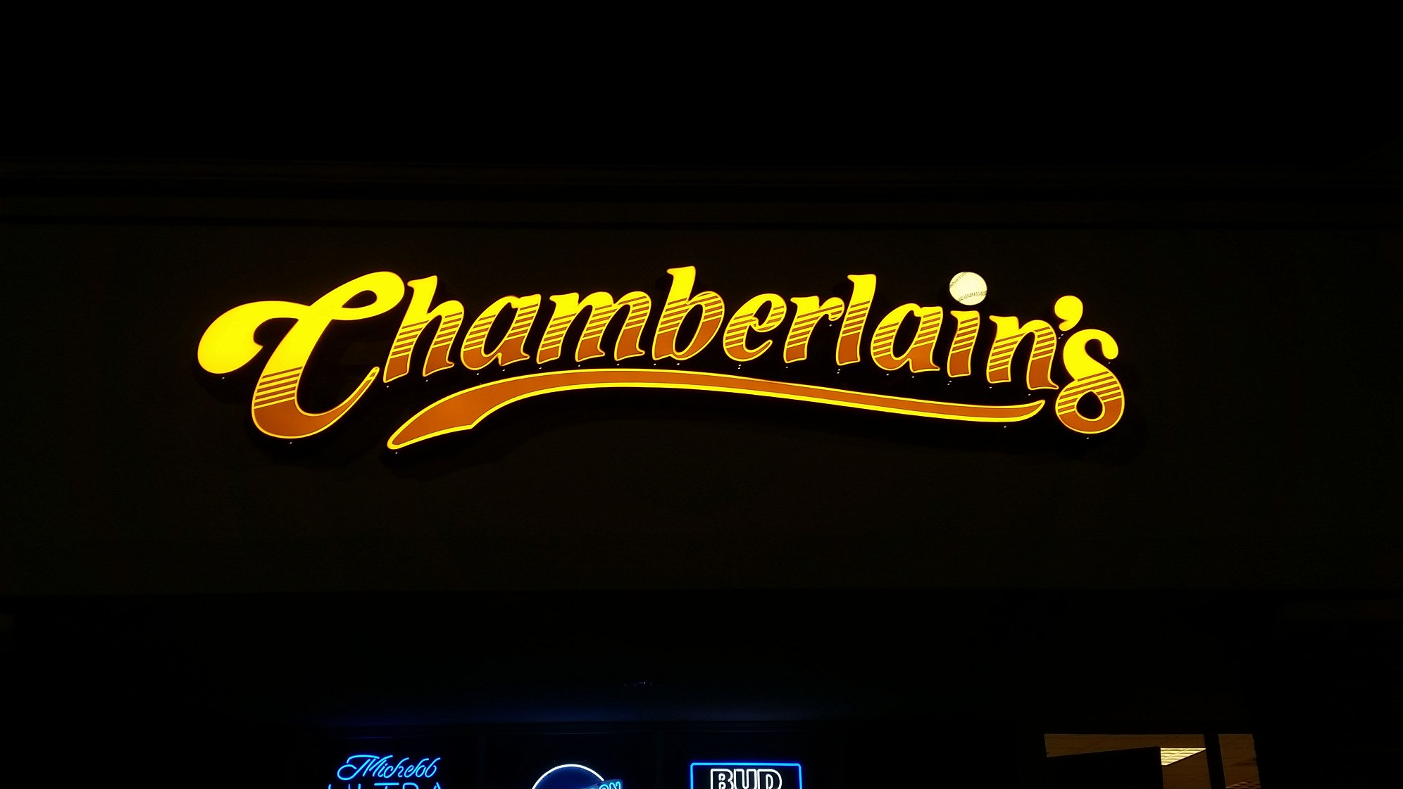 CHAMBERLAINS NIGHT