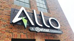 Allo Channel Letters