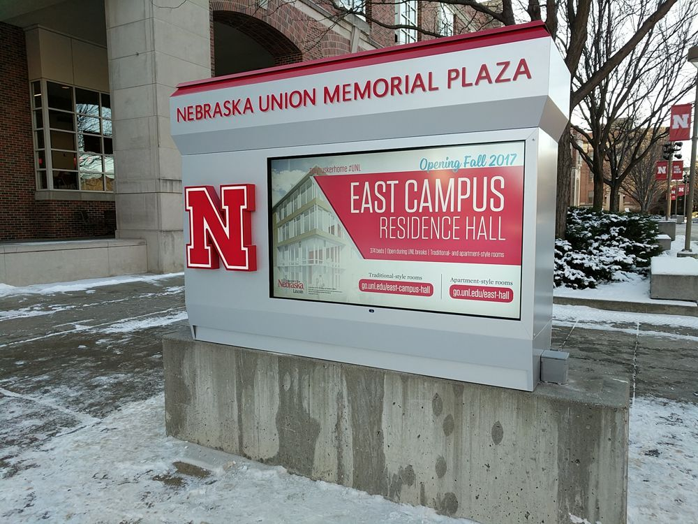 Nebraska Union Memorial Plaza