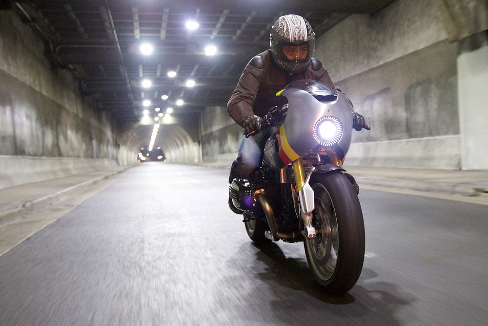 Project Autobahn Streak ride through LA tunnel