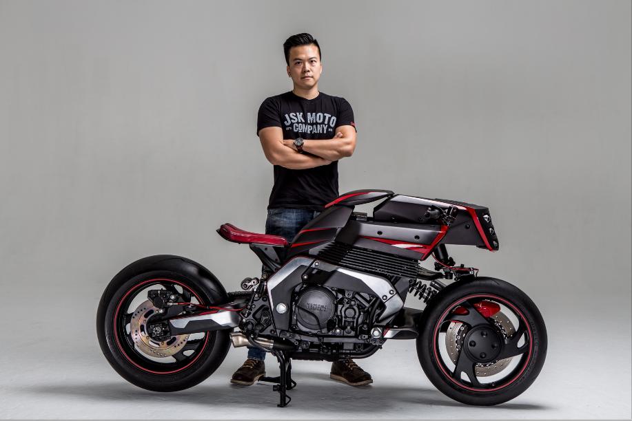 JSK Moto Custom Yamaha GTS1000