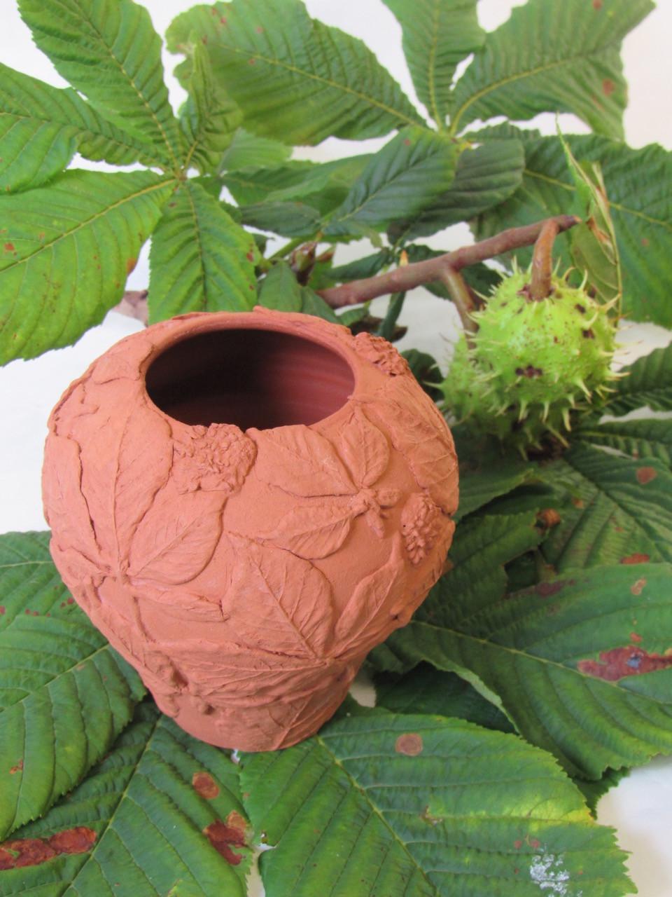 Horse Chestnut Vase