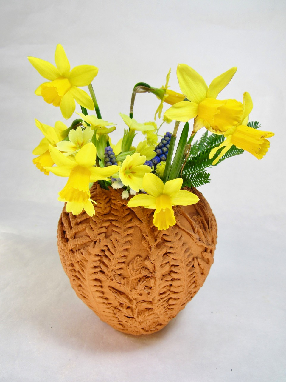 Fern and Meadow Vase