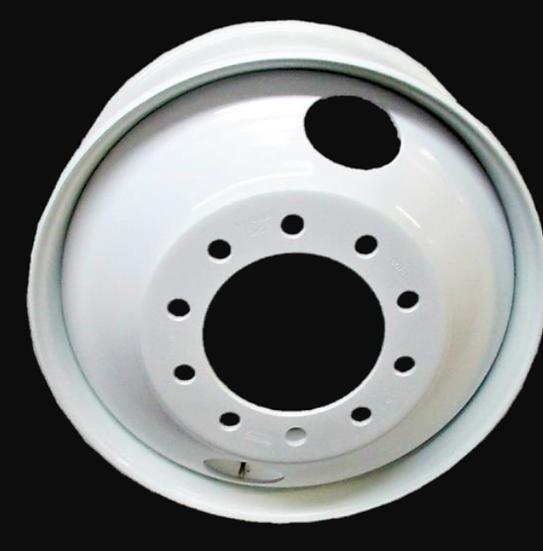 White Steel Wheel Rim 22.5 x 8.25