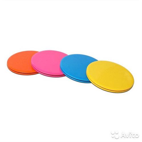 Диски скольжения, диски для глайдинга Dual Sided Fitness Gliding Discs Core Slid