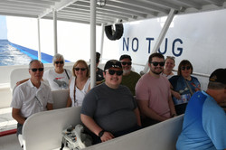 Boat to Grand Cayman