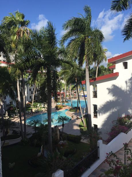 Room View at the Royal Cancun