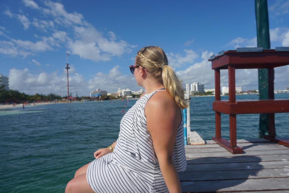 Maria at the Royal Cancun