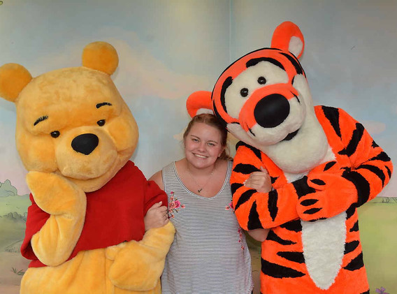Pooh and Tigger too!