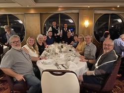 Final Dinner on the Rhapsody of the Seas