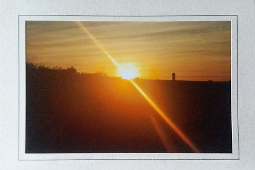 Sunrise Blank Greeting Card