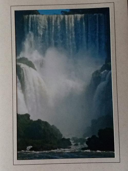 Iguazu Falls Blank Greeting Card