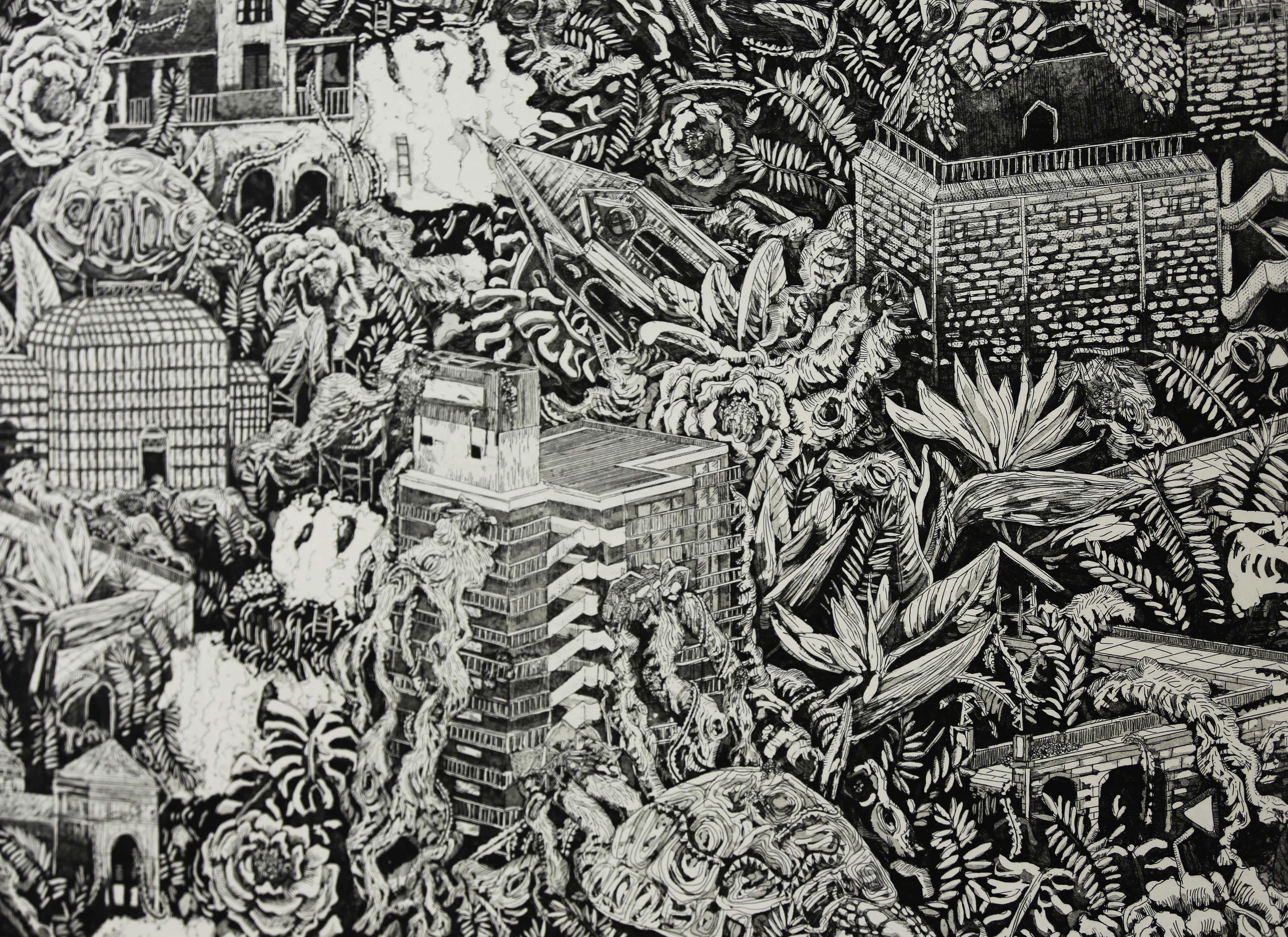 Untitled, 2017, 70cm x 70cm