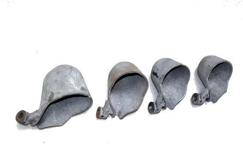 Cucharón para colada de aluminio