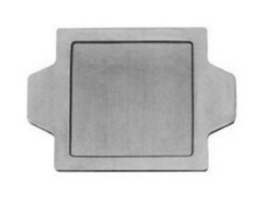 Placas de aluminio para montajes de modelos