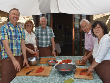 Tuscan Cooking class with group .JPG