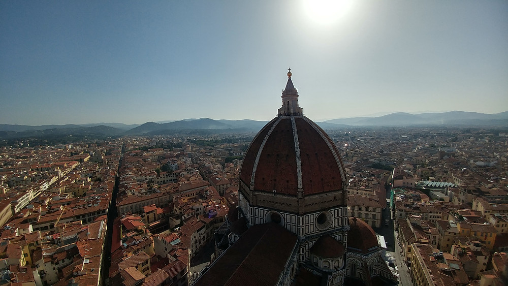 Brunelleschi's dome in Florence Italy