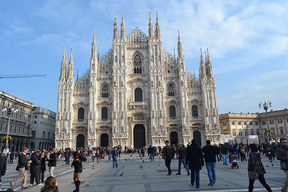 See the Duomo in Milan Italy