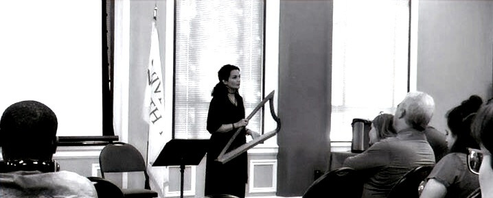 Lecture-Recital on Portuguese Music, Culture, and History - with Gothic Harp (2019)