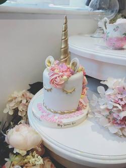 獨角獸蛋糕