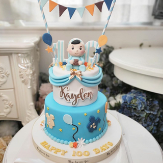 my-sweet-art-hk-baby-kides-fondant-cake2