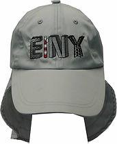 כובע ליגיונר אפור עם רקמה