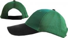 כובע פיטנס - ירוק / שחור