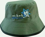כובע טמבל זית עם רקמה