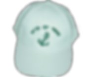 כובע בייסבול לבן עם רקמה