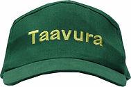 כובע ירוק עם ריקמה