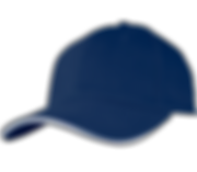 כובע נייבי פס לבן