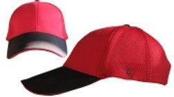 כובע פיטנס - אדום / שחור