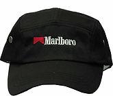 כובע אמריקנו שחור רקום