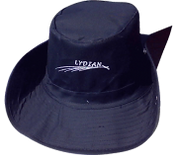 כובע אוסטרלי רקום