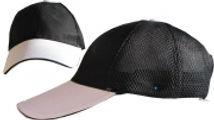 כובע פיטנס - שחור/לבן