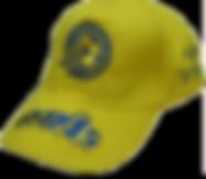 כובע צהוב עם רקמה